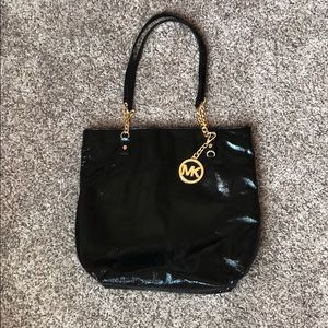 Michael Kors Genuine Leather Satchel